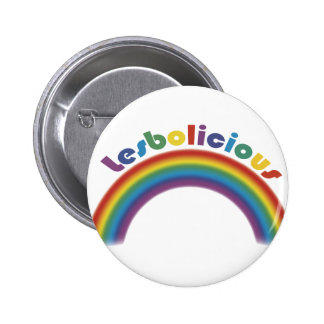 Lesbolicious Pinback Buttons