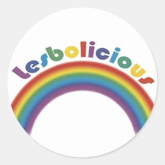 Lesbolicious Stickers