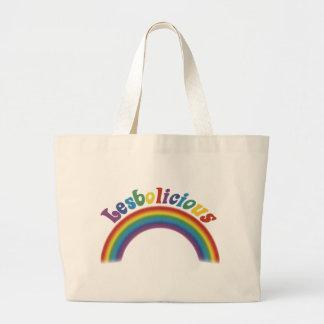 Lesbolicious Tote Bags