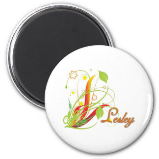 Lesley 2 Inch Round Magnet