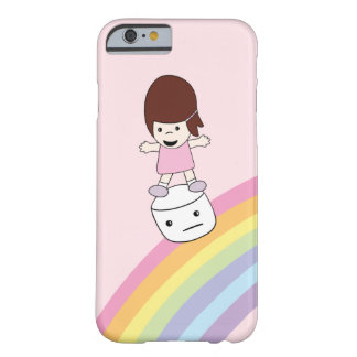 Lesley on Rainbow w Marshmallow iPhone 6/6s Case