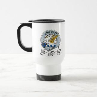 Leslie Clan Badge Travel Mug