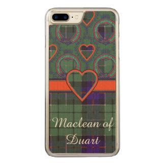 Leslie clan Plaid Scottish tartan Carved iPhone 8 Plus/7 Plus Case