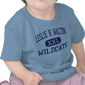 Leslie H Walton Wildcats Charlottesville Tees
