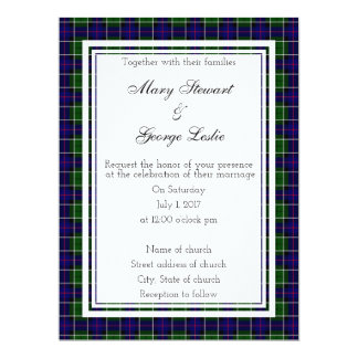 Leslie Scottish Wedding Invitation