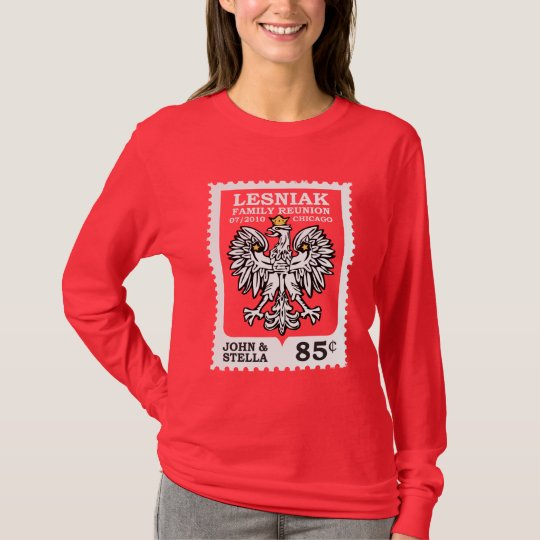 Lesniak Reunion Stamp T-Shirt