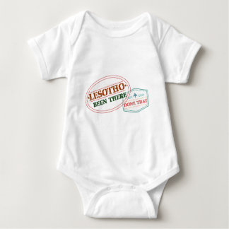 Lesotho Been There Done That Baby Bodysuit
