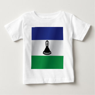 Lesotho flag baby T-Shirt