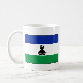 Lesotho Flag ~ Map Mug