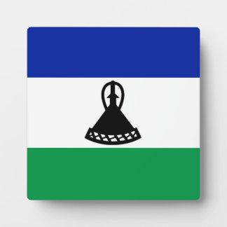 Lesotho Flag Plaque