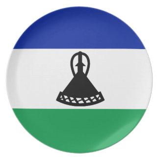 Lesotho Flag Plate