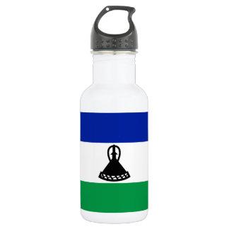 Lesotho National World Flag 532 Ml Water Bottle