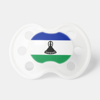 Lesotho National World Flag Pacifier