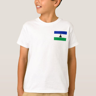 Lesotho National World Flag T-Shirt