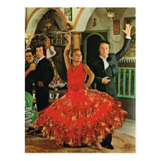 L'Espagne, danseurs de flamenco Carte Postale
