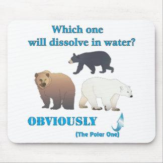 Lesquels se dissoudra dans la chimie polaire de l' tapis de souris