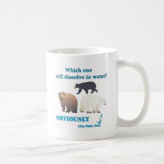 Lesquels se dissoudra dans la chimie polaire de l' mug blanc
