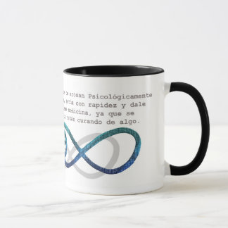 "less infinite ""Day of the Psychological battering Mug"