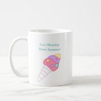 Less Monday More Summer Ice Cream Mug