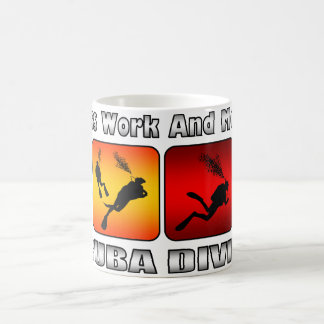 Less Work And More Scuba Diving Coffee Mug