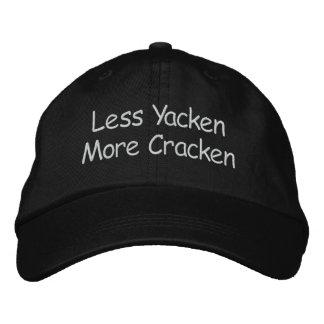 Less Yacken More Cracken Embroidered Hat