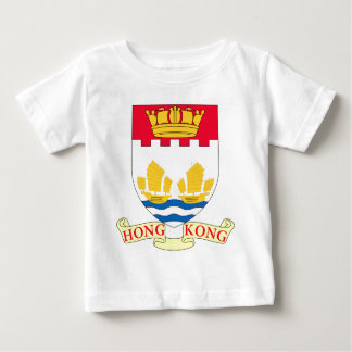 -Lesser_Coat_of_arms_of_Hong_Kong_(1959-1997 Baby T-Shirt