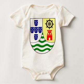 Lesser_coat_of_arms_of_Portuguese_India Baby Bodysuit