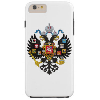 Lesser Coat of Arms of Russian Empire 1883 Tough iPhone 6 Plus Case