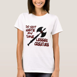 Lesser Creature Woman's T Shirt