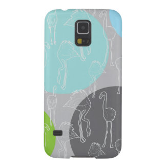 Lesser Flamingo pattern Galaxy S5 Covers