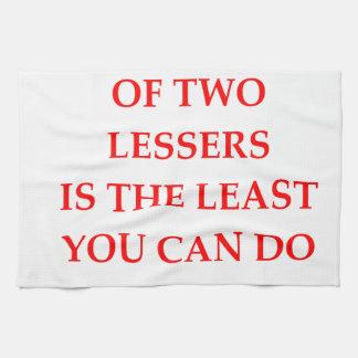 LESSER HAND TOWELS