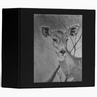 Lesser Kudu doe - Graphite Drawing Binders