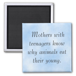 Lesson of Motherhood Magnet