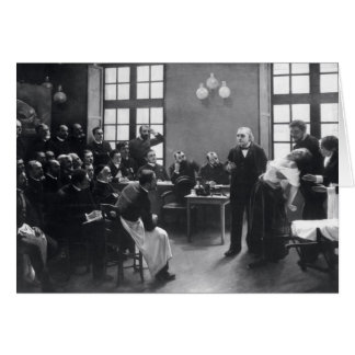 Lesson with Doctor Charcot at the Salpetriere Card