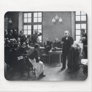 Lesson with Doctor Charcot at the Salpetriere Mouse Pad