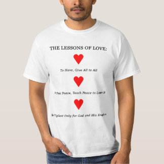 Lessons of Love (Light) T-Shirt