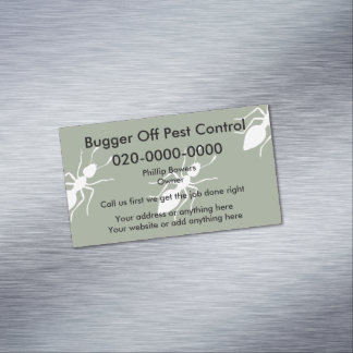 Lest Control UK Business Magnets