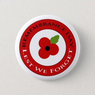 Lest we forget - Badge 2 Inch Round Button