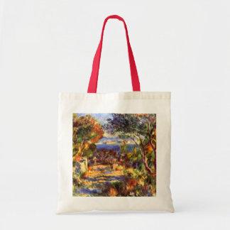 L'Estaque by Pierre Renoir, Vintage Impressionism Budget Tote Bag
