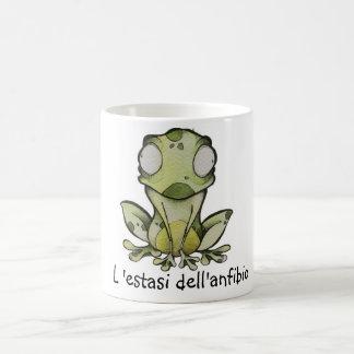 L'estasi dell'anfibio coffee mug