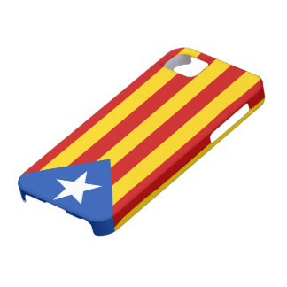 """L'Estelada Blava"" Catalan Independence Flag Case For The iPhone 5"