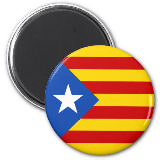 """L'Estelada Blava"" Catalan Independence Flag Magnet"