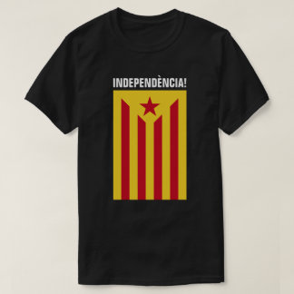 L'Estelada Vermella -Red Starred Flag Catalonia T-Shirt