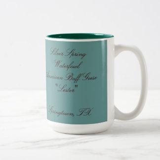 Lester Coffee Mug... Two-Tone Coffee Mug