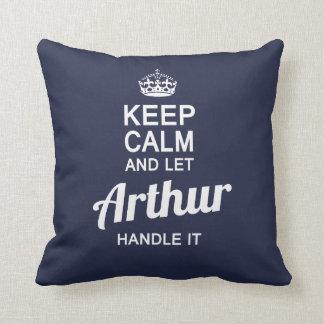 Let Arthur handle it! Throw Pillow