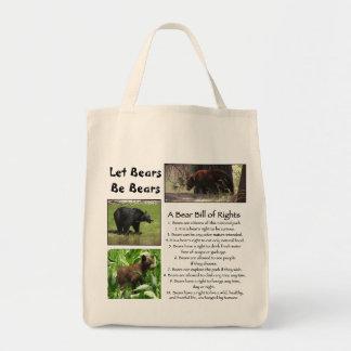Let Bears Be Bears Bag