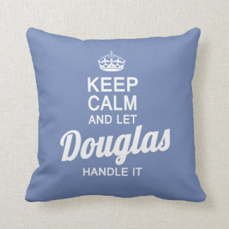 Let Douglas handle it! Throw Pillow