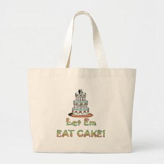 Let Em Eat Cake Wedding Tote Bag