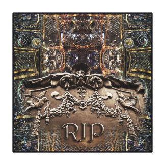 Let 'Er RIP Canvas Print