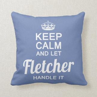 Let Fletcher handle it Throw Pillow
